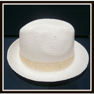 Καβουράκι ψάθινο λευκό-μπεζ (ΚΩΔ:10003)