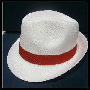 Καβουράκι ψάθινο λευκό-κόκκινο (ΚΩΔ:10018)
