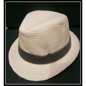 Καβουράκι ψάθινο λευκό-γκρι (ΚΩΔ:10022)