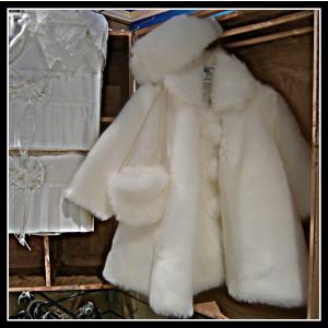 Γουνάκι καπέλο τσαντάκι (Ευσταθίου) (Κωδ.1315-1)