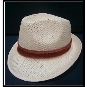 Καβουράκι ψάθινο λευκό-κόκκινο (ΚΩΔ:10049)