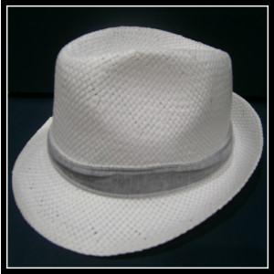 Καβουράκι ψάθινο λευκό-γκρι (ΚΩΔ:10055)
