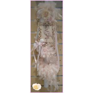 Λαμπάδα χειρός πούπουλα flamingo B1007