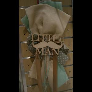 Λαμπάδα χειρός γάζα φιόγκοι little Man B10008