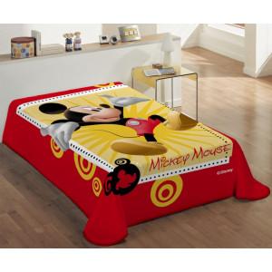 Κουβέρτα Mickey Disney (Κωδ.621.538.004) (Με Δωροεπιταγή 10,40 €)