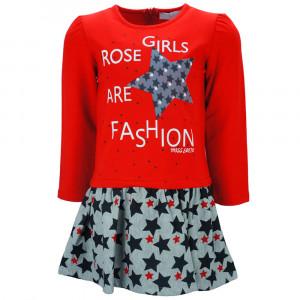 Φόρεμα Μ/Μ Μπεμπέ Κόκκινο Κωδ.291.086.013