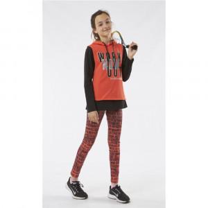 Σετ κορίτσι γιλέκο μπλούζα κολάν Εβίτα 187053. 291.045.019