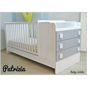 Κρεβάτι baby-smile πολυμορφικό Patrizia.Ρωτήστε για την τιμή.(00389)