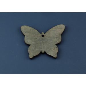Μπομπονιέρες Βάπτισης Ξύλινη Πεταλούδα NU1624B Nuova Vita