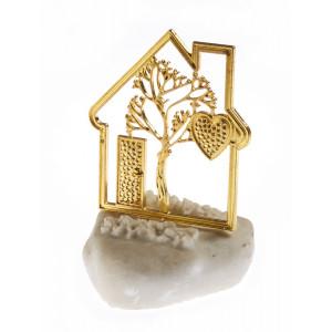 Μπομπονιέρες Γάμου Βάπτισης Πέτρα Σπιτάκι Δέντρο της Ζωής ΝU1733 Nuova Vita