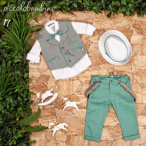 Ολοκληρωμένο σετ βάπτισης αγόρι Piccolo bambino 408-17  narlis.gr