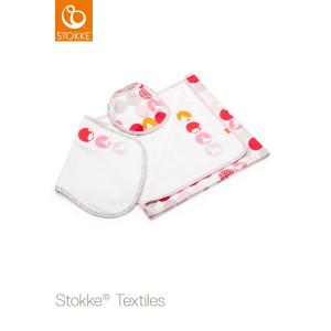 Stokke® Jersey Σετ Δώρου Κουβέρτα Silhouette Pink (Κωδ.551.01.024)