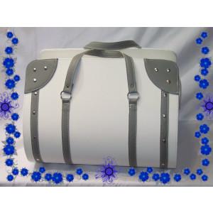 Τσάντα Δερματίνη Βαπτιστική (Κωδ.0007-1)