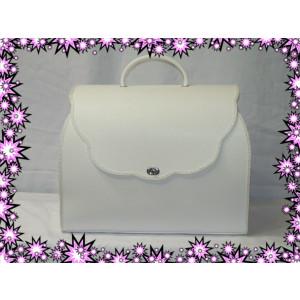 Τσάντα Δερμάτινη Βάπτισης(50579)