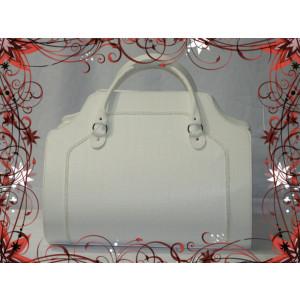 Τσάντα Δερμάτινη Βάπτισης(50582)