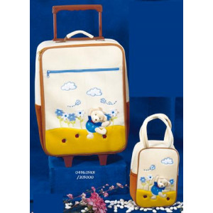 Βαλίτσα ταξιδίου σετ 2 τμχ (Κωδ.0496.05101)