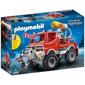 Playmobil, Όχημα Πυροσβεστικής με Τροχαλία Ρυμούλκησης, 9466 , παιχνίδι, narlis.gr