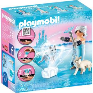 Playmobil Πριγκίπισσα Tου Ψύχους Mε Αλεπού (9353) Α