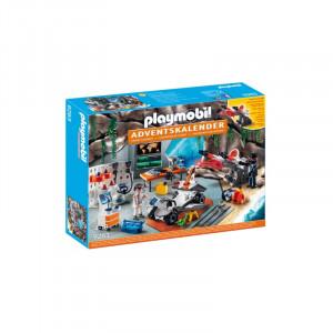 Playmobil 9263 Χριστουγεννιάτικο Ημερολόγιο Εργαστήριο Spy Team Κωδ 787.342.273
