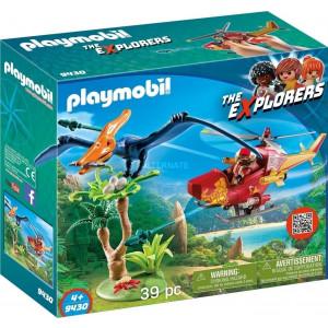 Playmobil Ελικόπτερο και Πτεροδάκτυλος 9430 Κωδ. 787.342.040