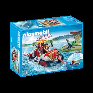 Playmobil Χοβερκραφτ με Εξερευνητές 9435 Κωδ. 787.342.045