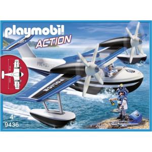 Playmobil Αστυνομικό Υδροπλάνο 9436 Κωδ. 787.342.024