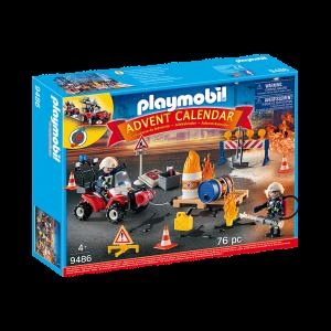 Playmobil 9486 Επιχείρηση Πυρόσβεσης Εργοταξίου Κωδ 787.342.281