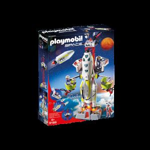 Playmobil Space Πύραυλος Διαστημικής Αποστολής, παιδικό παιχνίδι διάστημα, narlis.gr