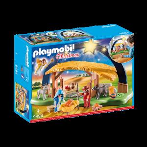 Playmobil 9494 Φάτνη με Φωτεινό Αστέρι Κωδ 787.342.277