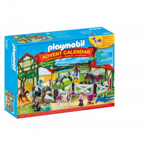 Playmobil 9262 Χριστουγεννιάτικο Ημερολόγιο Ιππικός Όμιλος Κωδ. 787.342.272