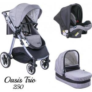 Just Baby Trio Oasys Grey.Ρωτήστε για την τιμή (507.97.058) (00289)