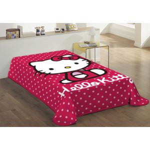 Κουβέρτα Hello Kitty (Κωδ.621.538.001) (Με Δωροεπιταγή 10,40 €)
