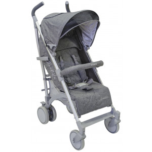 Καρότσι Αλουμινίου Just Baby Grey Melanze (Q200) (507.128.013)