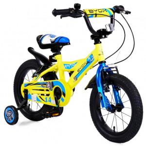 """Ποδηλατάκι Byox Rapid 14"""" (Κίτρινο) (Από 5 έως 7 Ετών) (#737.353.006#)"""