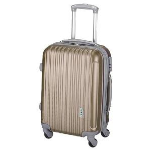 Βαλίτσα ταξιδιού Rcm Καφέ Gold (κωδ.8006-3) Επεκτεινόμενη!! Δωρεάν μεταφορικά. Μόνο για λίγο!!!!!!!!