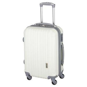Βαλίτσα ταξιδιού Rcm Λευκή 8006-1 Επεκτεινόμενη!! Δωρεάν μεταφορικά!!!