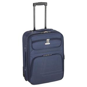 Βαλίτσα υφασμάτινη μεγάλη Rcm  Blue (κωδ.124-11) Επεκτεινόμενη!! Δωρεάν μεταφορικά. Μόνο για λίγο!!!!!!!!