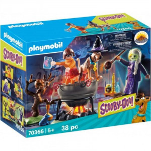 Playmobil Μάγισσα Με Μαγικό Καζάνι 70366