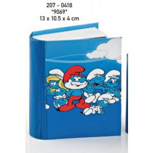 Μπομπονιέρες Βάπτισης Κουτί Στρουμφάκια  207-0418 Boutlas