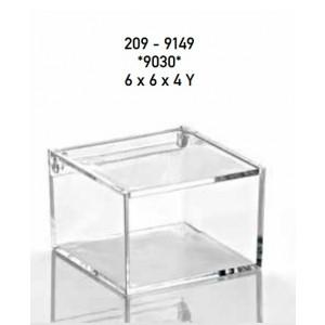 Μπομπονιέρες Γάμου Βάπτισης Κουτί Plexiglass 209-9149 Boutlas