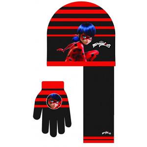 Σκούφος - Γάντια - Κασκόλ (Μαύρο) (#200.203.000+13#)