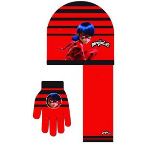 Σκούφος - Γάντια - Κασκόλ ML2251 (Κόκκινο) (#200.203.000+10#)