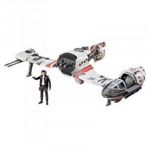 Star Wars Force Resistance Ski Speeder And Captain Poe Dameron Φιγούρα (C1251)