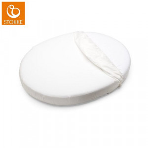 Stokke Sleepi Mini Fitted Sheet, White (Κωδ.551.80.009)