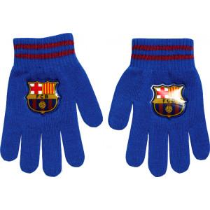 Γάντια Πλεκτά Barcelona (Μπλε) (Κωδ.200.90.014)