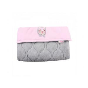 Ποδόσακος καροτσιού universal Pink Grey (Κωδ.563.01.066)