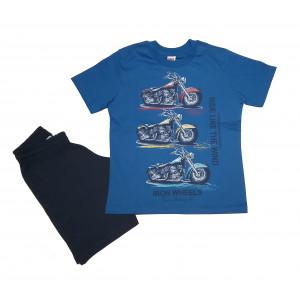 Σετ Παιδικό Κ/Μ Iron Wheels (Ρουα Μπλε) (#077.043.095+25#)