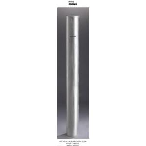 Λαμπάδα με χρώμα πατίνα ασημι 15x140cm κούφιο (Κωδ.2449500) (Η τιμή αφορά 2 Τεμάχια)