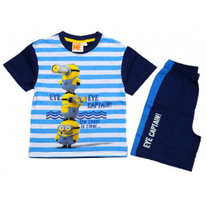 Σετ Παιδικό K/Μ Μακώ Minions Disney (Μπλε Ρουα) (Κωδ.200.43.008)