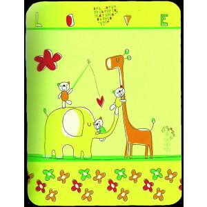 Κουβέρτα Rasilan 1.10 cm x 1.40cm (Κίτρινο) (Κωδ.123.515.036) ΚΑΛΕΣΤΕ ΓΙΑ ΤΑ ΕΞΟΔΑ ΑΠΟΣΤΟΛΗΣ